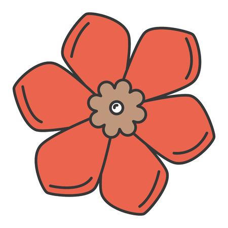 cute flower spa icon vector illustration design