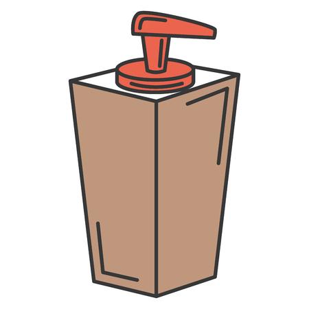 soap bottle dispenser icon vector illustration design Stock Vector - 84596817