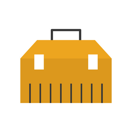 tools box isolated icon vector illustration design Illustration