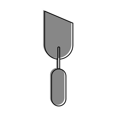 spatula tool isolated icon vector illustration design Illusztráció