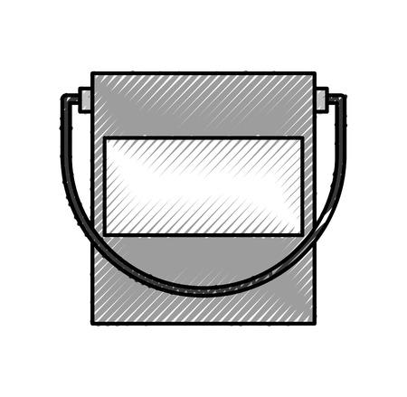 paint pot isolated icon vector illustration design Illusztráció