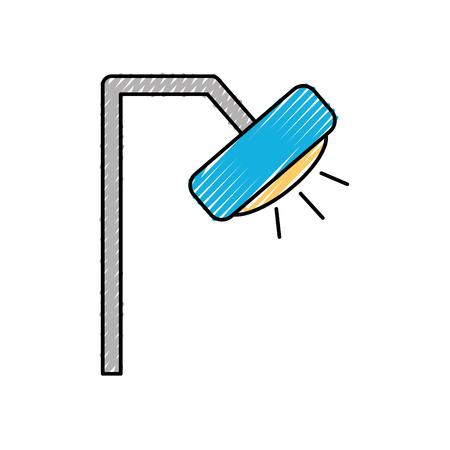 歯科ランプ分離アイコン ベクトル イラスト デザイン  イラスト・ベクター素材