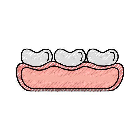 tooth care isolated icon vector illustration design Illustration