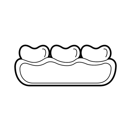 tandzorg geïsoleerde pictogram vector illustratie ontwerp