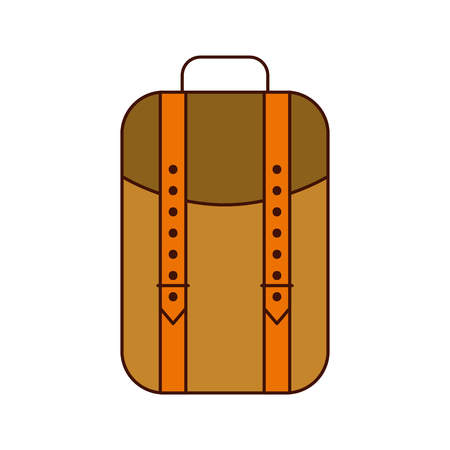 camping bag isolated icon vector illustration design Stock fotó - 84599206
