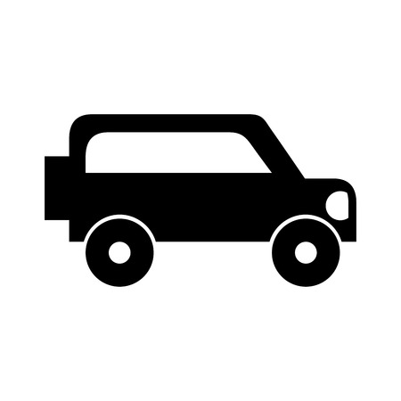 safari van isolated icon vector illustration design Ilustrace