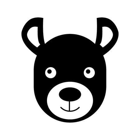 Wild hyena isolated icon vector illustration design