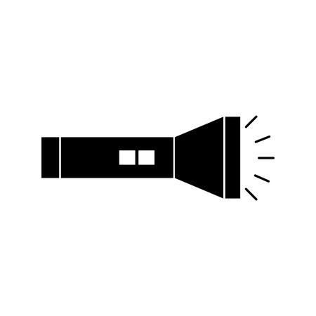 flash luce isolato icona illustrazione vettoriale di progettazione