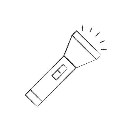 flash light isolated icon vector illustration design