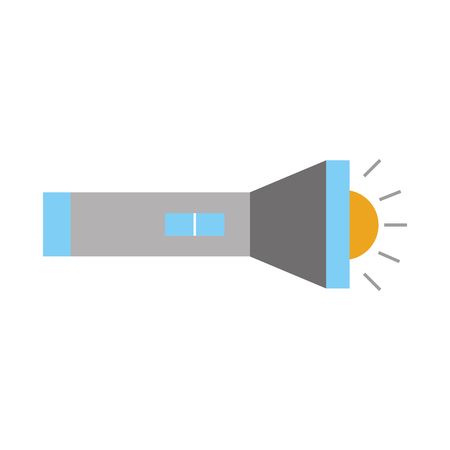flash light isolated icon vector illustration design