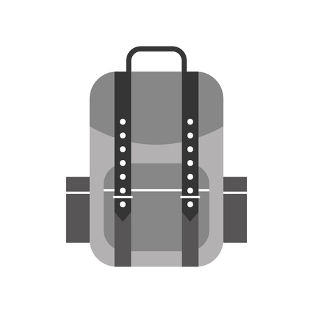 camping bag isolated icon vector illustration design Ilustração