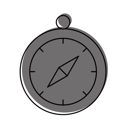 compass guide isolated icon vector illustration design 向量圖像