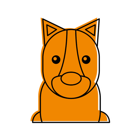 Wild leeuwin geïsoleerd pictogram vector illustratie ontwerp