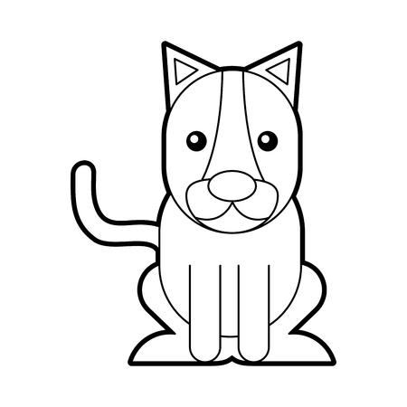 Wild lioness isolated icon vector illustration design