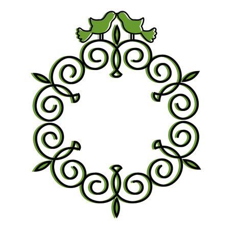diseño gráfico del ejemplo del vector del icono de la navidad símbolo decorativo