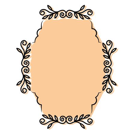 Diseño gráfico del ejemplo decorativo del vector del icono del símbolo de la boda