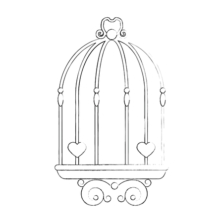 Wedding decorative symbol icon vector illustration graphic design