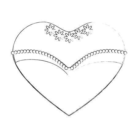 Wedding decorative symbol icon vector illustration graphic design
