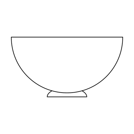 Empty dish symbol icon vector illustration graphic design