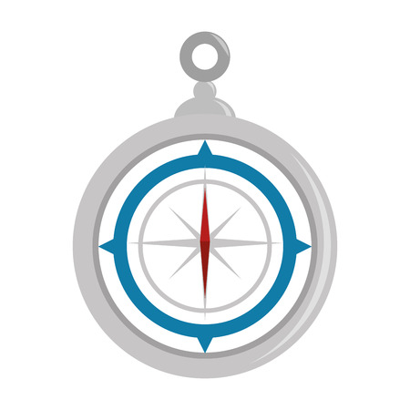 Navigation compass tool icon vector illustration graphic design