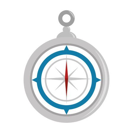 Navigation compass tool icon vector illustration graphic design