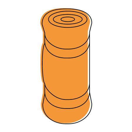 Schlafen camping isoliert Symbol Vektor-Illustration Grafik-Design Standard-Bild - 84667554