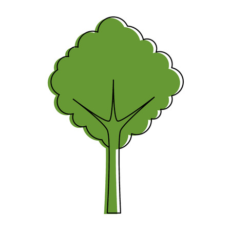 Tree nature symbol icon vector illustration graphic design