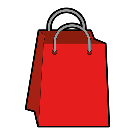 Shopping bags isolated icon vector illustration graphic design