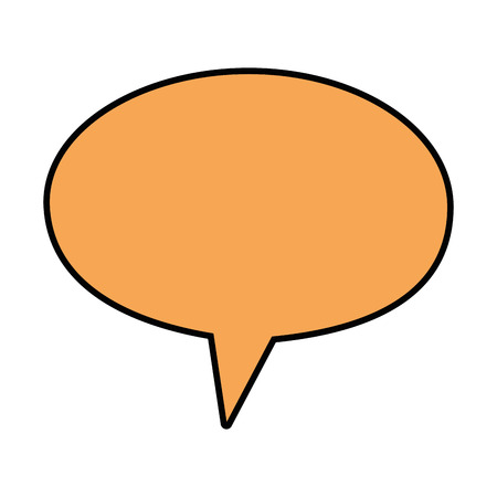 Bubble chat symbol icon vector illustration graphic design