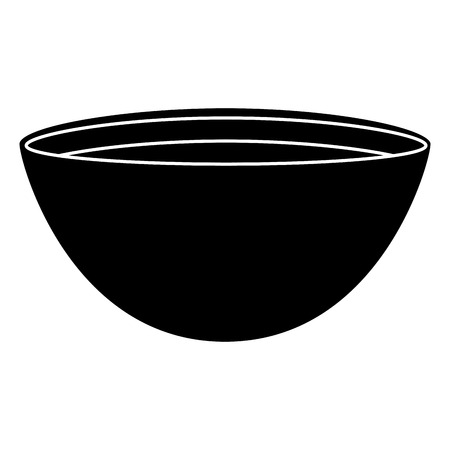 bowl with recipe icon vector illustration design