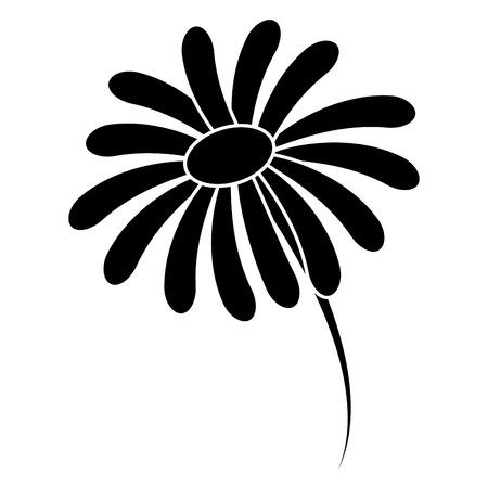 Cute flower spa icon vector illustration design Çizim