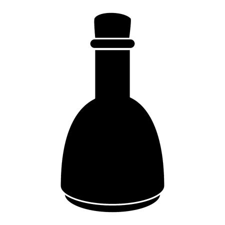 Oil bottle spa product vector illustration design.