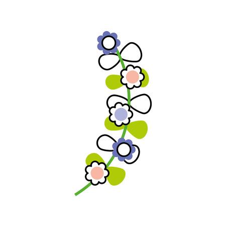 花輪の葉の王冠アイコン ベクトル イラスト デザイン  イラスト・ベクター素材