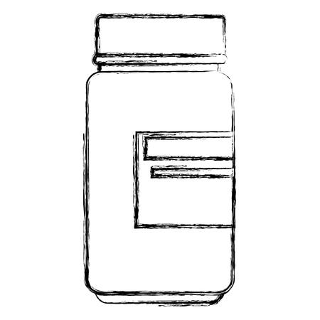 ボトル医薬品アイコン ベクトル イラスト デザイン