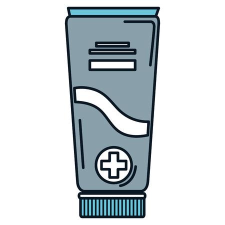 tube medical drug icon vector illustration design