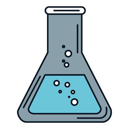 チューブ テスト分離アイコン ベクトル イラスト デザイン
