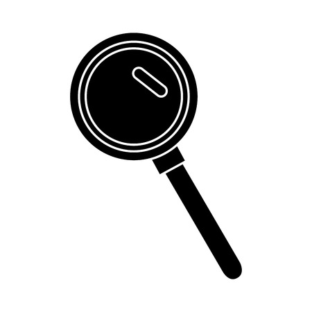 Search or magnifying glass icon vector illustration design Stok Fotoğraf - 84674586