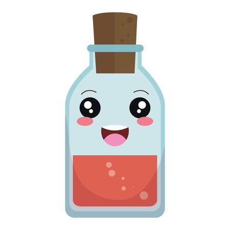 Bottle medical drug icon vector illustration design