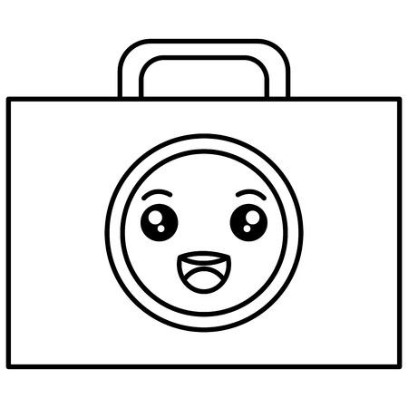 medical kit   character vector illustration design