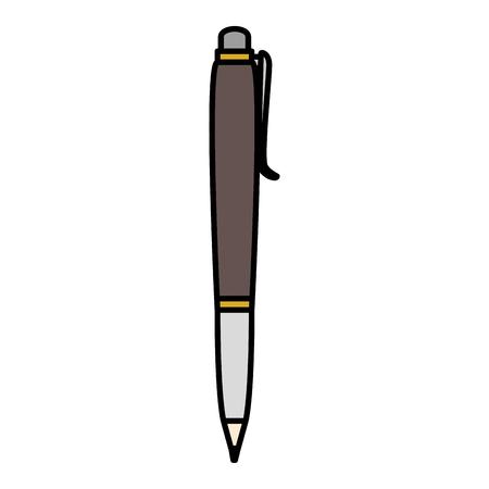 school pen isolated icon vector illustration design Zdjęcie Seryjne - 84672054
