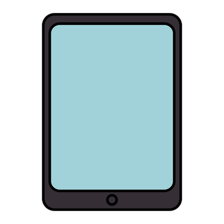 tablet device isolated icon vector illustration design Çizim