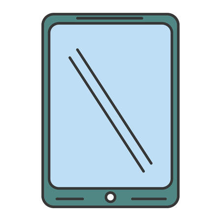 tablet device isolated icon vector illustration design Stock fotó - 84681988