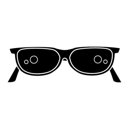 눈 안경 절연 아이콘 벡터 일러스트 디자인