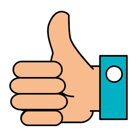 hand like isolated icon vector illustration design