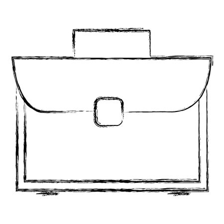 portfolio briefcase isolated icon vector illustration design 向量圖像