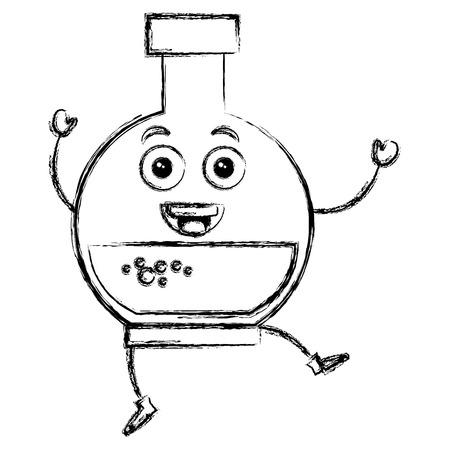 tube test character vector illustration design Stock Vector - 84794504