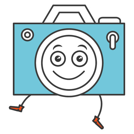 camera photographic character vector illustration design Stok Fotoğraf - 84794515