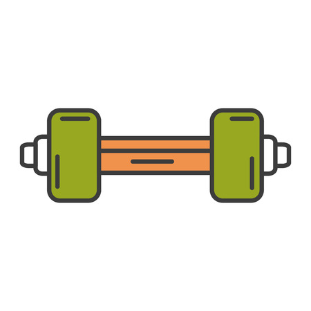 weight lifting gym icon vector illustration design 向量圖像
