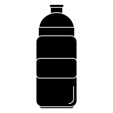 Bottle gym isolated icon vector illustration design Stock Vector - 84732865
