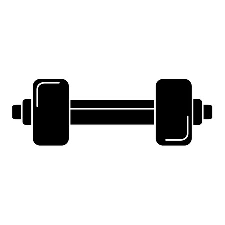 weight lifting gym icon vector illustration design Ilustração